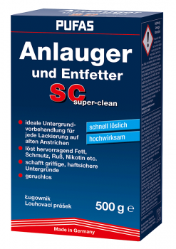 PUFAS Anlauger und Entfetter SC super-cl, 500 g