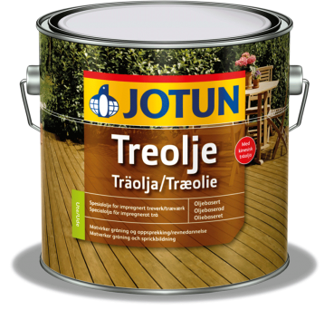 JOTUN Holzöl Treolje V ProfiMix Halbmatt